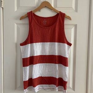 J. Crew Cotton Tank Top sz M
